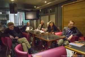 """Café littéraire avec Florence Quentin autour de l'ouvrage qu'elle a dirigé """"le livre des Egyptes"""" ,  éd. Robert Laffont, Mercredi 11 Février 2015, Institut du monde arabe, Paris."""
